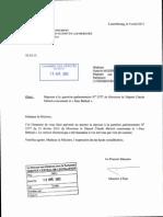 """Réponse à la question parlementaire N° 2577 de Monsieur le Député Claude Meisch concernant le """"Stay Behind"""""""