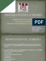 SISTEMA PUESTA A TIERRA (PRESENTACIÓN)
