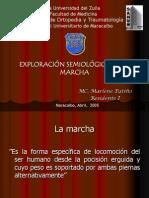 EXPLORACIÓN SEMIOLÓGICA DE LA MARCHA