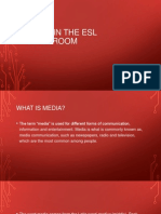 Media in the Esl Classroom