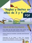 Reglas y límites en niños
