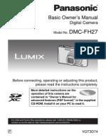 Lumix Manual DMCFH27