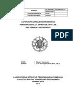 Laporan Instrumentasi SPT