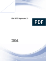 IBM SPSS Regression
