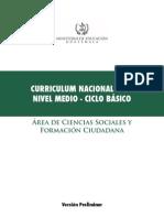 CNB Ciencias Sociales Formacion Ciudadana