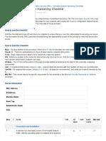 Windows 2008R2 Server Hardening Checklist