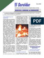 51Serv200301e - VOLVER A LOS PRINCIPIOS O RENOVAR LA RENOVACIÓN