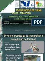 Presentacion Primera Unidad Topografia