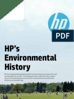 Hp Environmental History