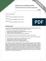 9707 Standards Booklet