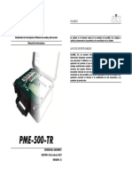 PME-500-TR Manual Del Usuario