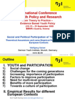International Conference on Youth Policy and Research