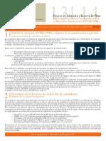 Normativa General Proceso Admision MUIMF 2013 CUNEF