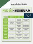 4 Week Meal Plan