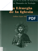 La liturgia de la iglesia- LOPEZ MARTÍN JULIÁN