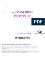 Wcdma Drive Procedure