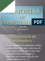 Memorias de Computadoras RC