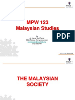 Lecture 14 - Malaysian Society 2