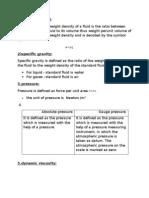 fluid mechanics and machinery 2 marks