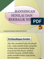 Perbandingansenilaidanberbaliknilai Oke 130118183947 Phpapp02