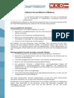 Das Medienrecht für Newsletter und Websites im Überblick