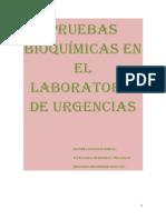 Pruebas Bioquimicas en El Laboratorio de Urgencias