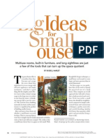 Big Ideas in Small Houses