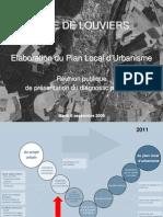 PLU Louviers réunion publique