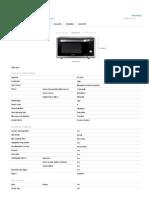 Mc32f604tct - Tech Specs _ Samsung India