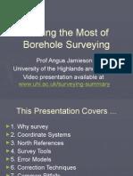 Borehole Surveying