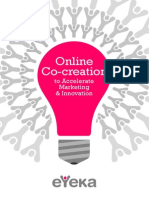Online Co-creation to Accelerate Marketing Innovation