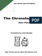 Chronologicon Anglais