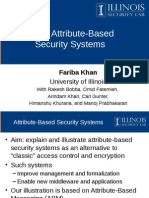 463.7 Attribute-Based Security Systems