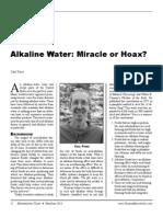 Alkaline Water Cf