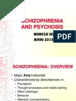 Schizophrenia Psychosis Bb
