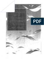Book Guidance and Control of Ocean Vehicles - Thor I. Fossen