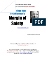 30 Ideas From Margin of Safety