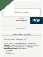 Blogs im Tourismus