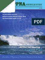 APPNA 2009 Fall Program