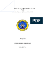 Laporan Praktikum Instalasi Wan Simulasi Packet Tracer