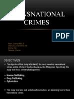 Transnational Crime Ppt