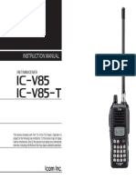 ic-v85 manual