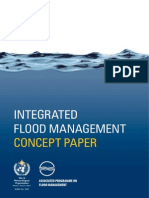 Concept Paper Flood management