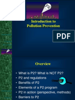 Introduction toPollution Prevention