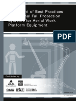 Fall Protection for Aerial Work Platforms