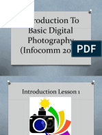 introduction to basic digital photography lesson 1 2014