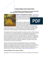 Marti White is Named Gallery's New Featured Artist