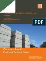 Thomas Armstrong - Concrete Blocks Brochure Jan 2013 - Web Version