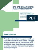 Asas-Asas Dan Dasar-dasar Perjanjian Internasional