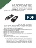 Flashdisk Adalah Salah Satu Media Penyimpanan Data Yang Berukuran Kecil Dan Efektif Digunakan Untuk Tranfortasi Data Antar Komputer